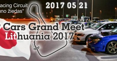 JapCars Grand Meet Lithuania 2017