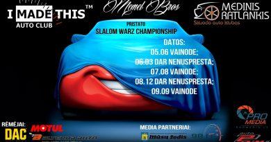 Slalom warz championship stage 1