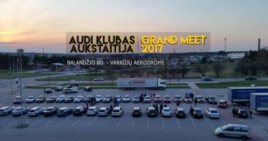 Audi Klubas Aukštaitija | Grand Meet 2017