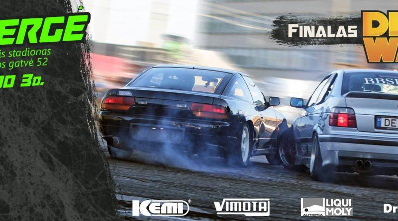 D1Sport Drift Wars Finalas / Ukmergė