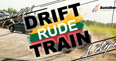 Drift Train Rude 1etapas