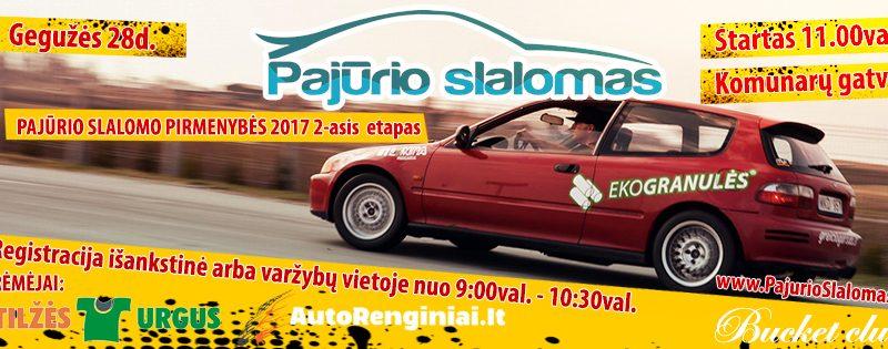 """""""Pajūrio slalomas 2017"""" 2 - asis etapas #2"""