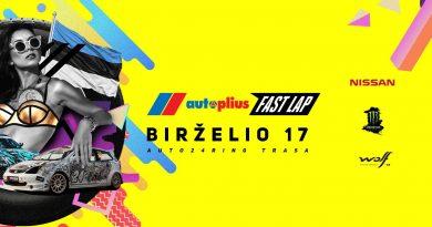 Autoplius.lt Fast Lap 2017 TWO - Race holiday in Estonia