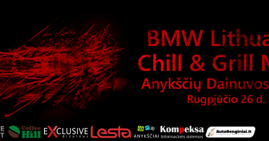 BMW Lithuania /// Chill & Grill Meet 2017