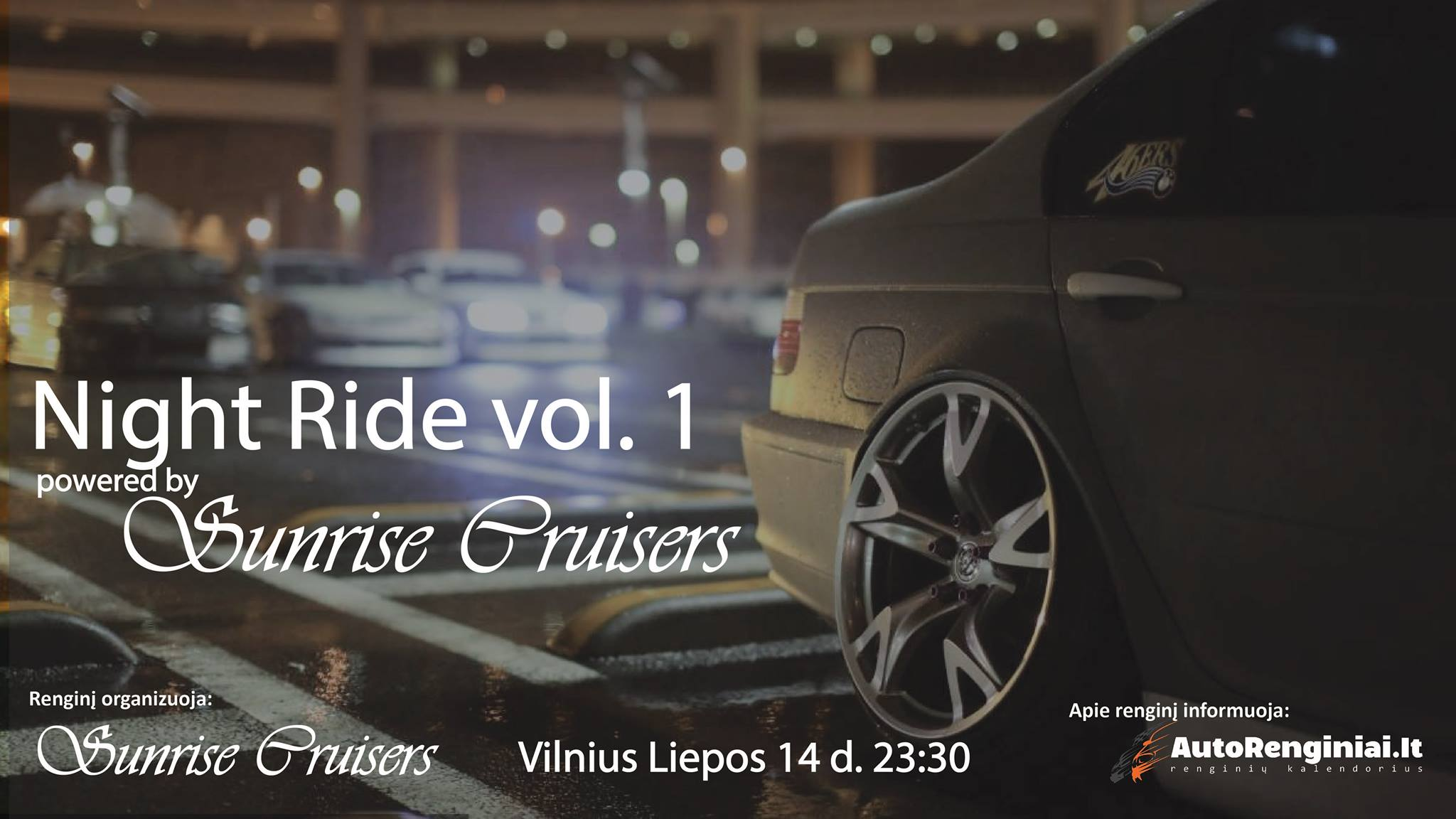 Night Ride vol. 1 (powered by Sunrise Cruisers)