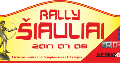 """Lietuvos mini ralio čempionato III etapas """"ŠIAULIAI 2017"""""""