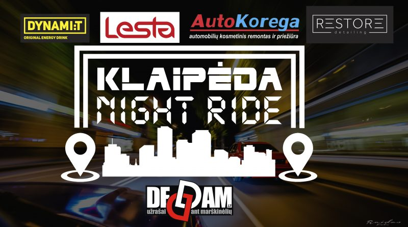 Klaipėda Night Ride