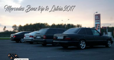 Mercedes Benz trip to Latvia 2017