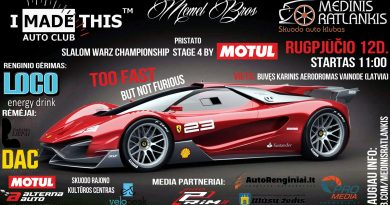 Slalom warz championship 2017 stage powered by MOTUL