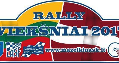"""Rally Sprint """"VIEKŠNIAI 2017"""""""