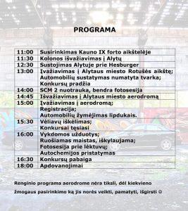 Swedish Cars Meet 2 programa