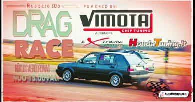 Vimota Drag Race Paskutinis 2017