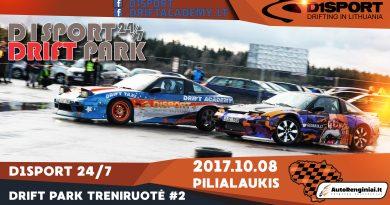 D1Sport 24/7 Drift Park Treniruotė #2