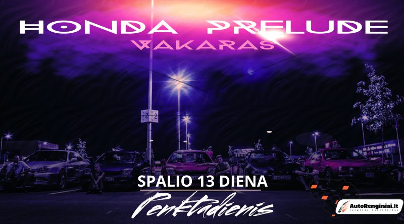 Honda Prelude vakaras