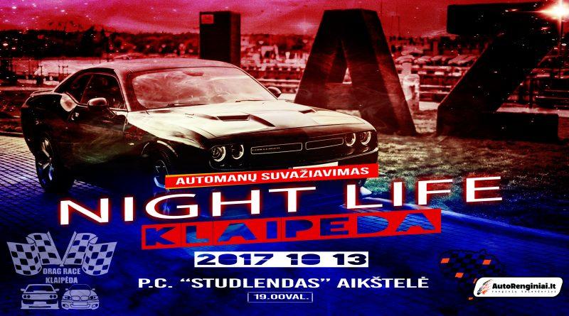 Night Life Klaipėda automanų suvažiavimas