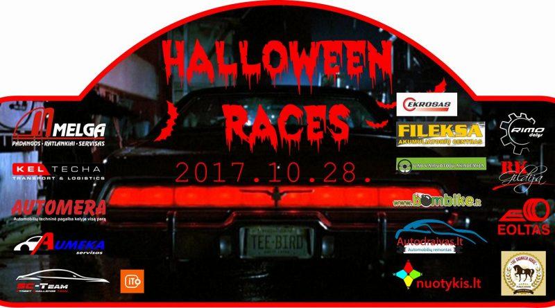 "Orientacinės varžybos ""Halloween Race 2017"""