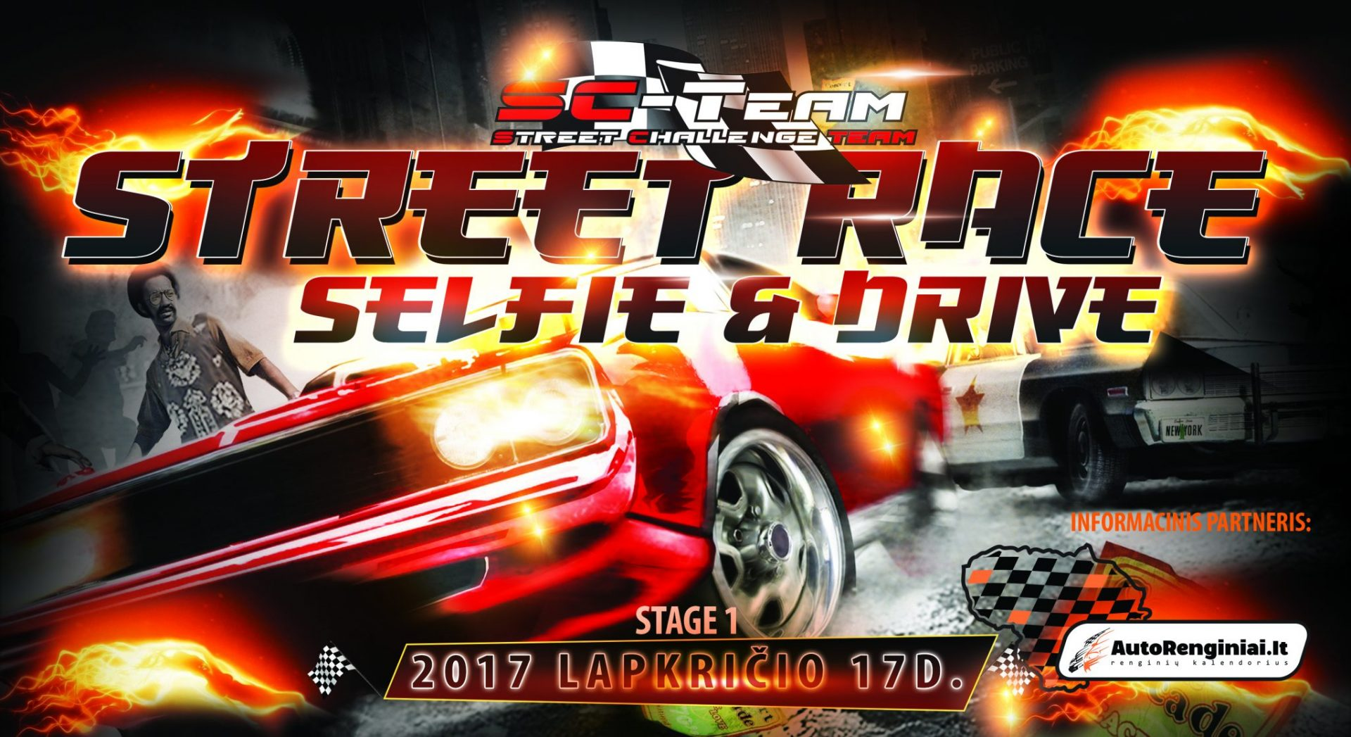 "Street Race ""Selfie and Drive"" Stage 1"