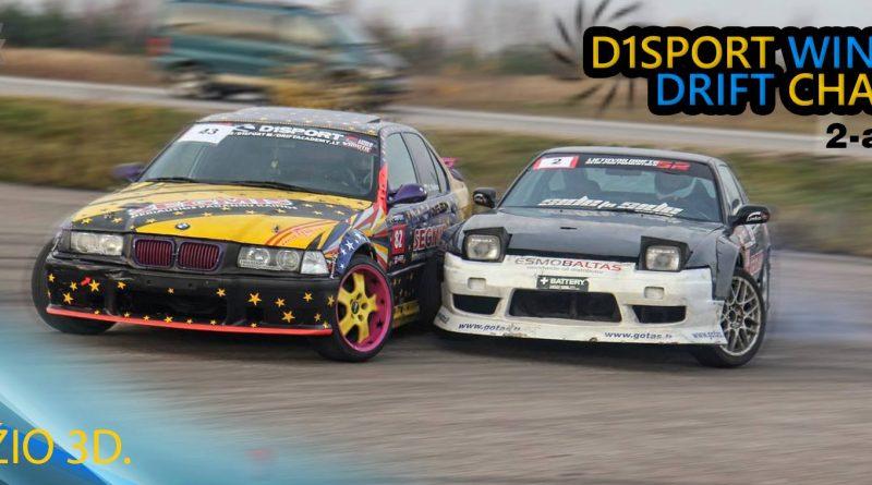 D1Sport Winter Drift Challenge #2 DRIFT PARK
