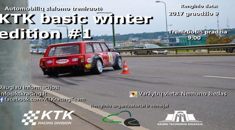 KTK Basics winter edition #1