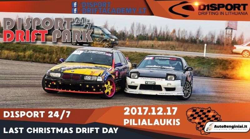 Last Christmas Drift Day. D1Sport 24/7 Drift Park