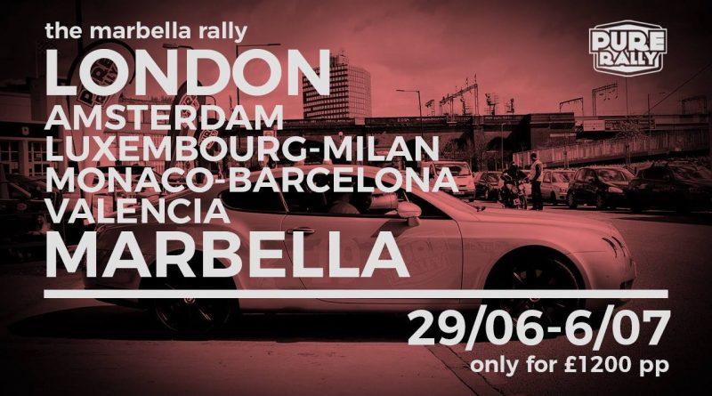 Pure Rally Marbella 2018