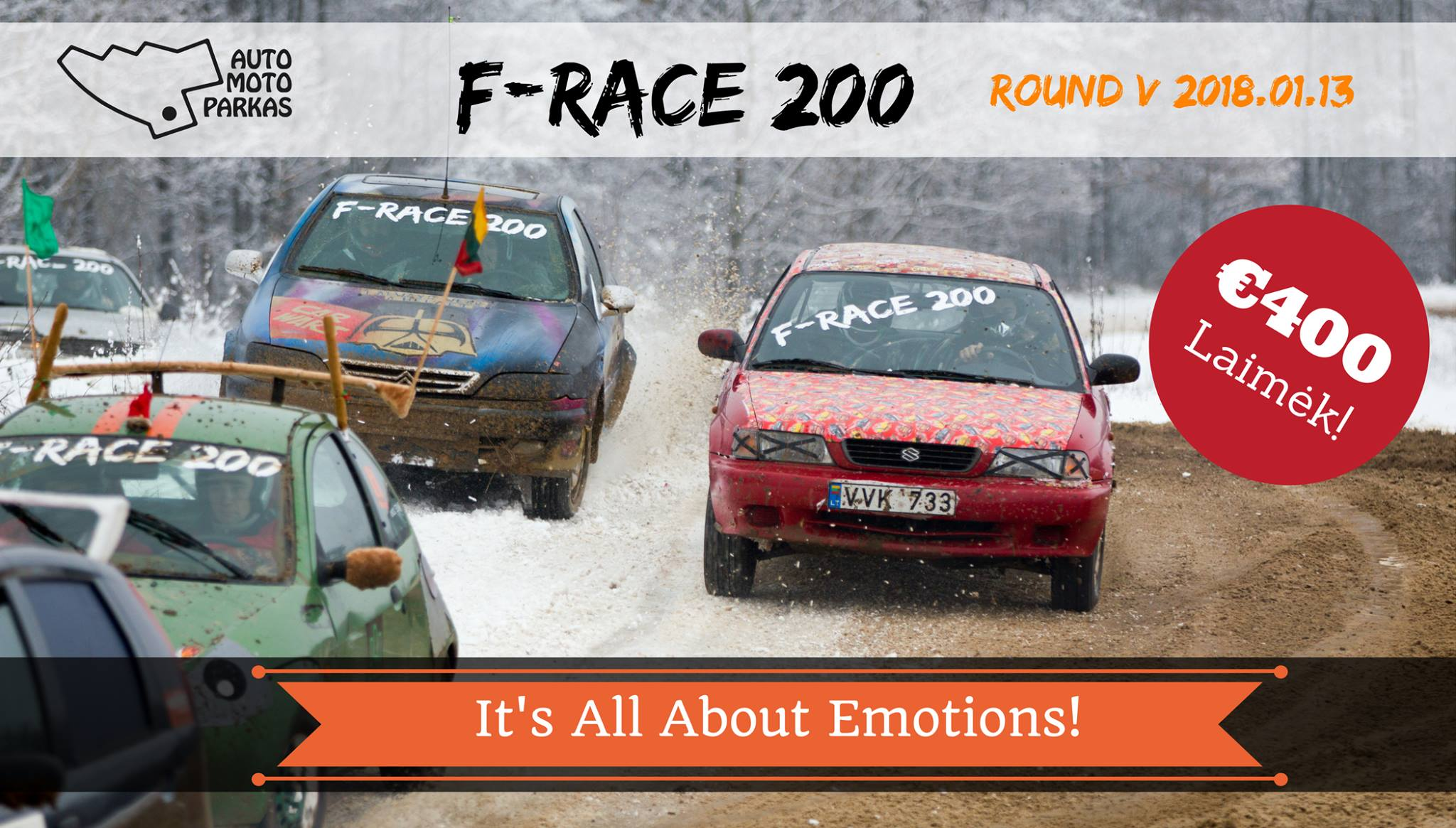 F-Race 200 Round V