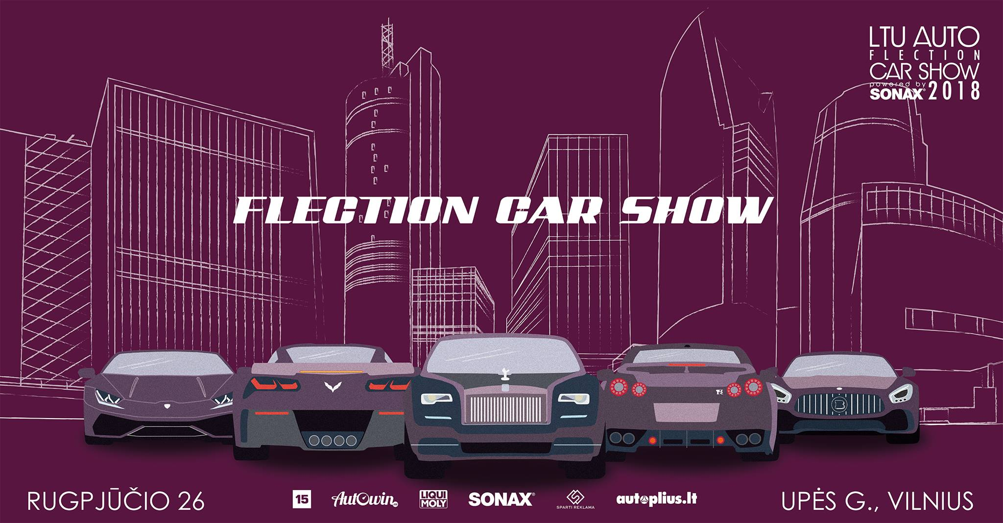 "LTU AUTO ""Flection 2018"" Powered by SONAX"