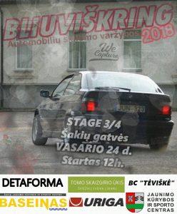 """Slalomo varžybos """"Bliuviškring 2k18"""" III City Stage"""