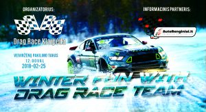 Winter fun with dragRace team