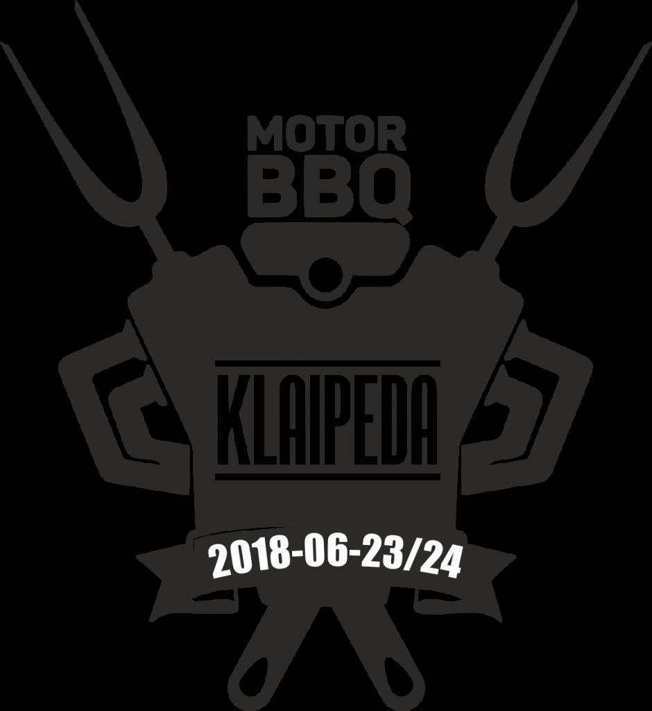 Automanų festivalis - Klaipėda Motor BBQ 2018 logotipas