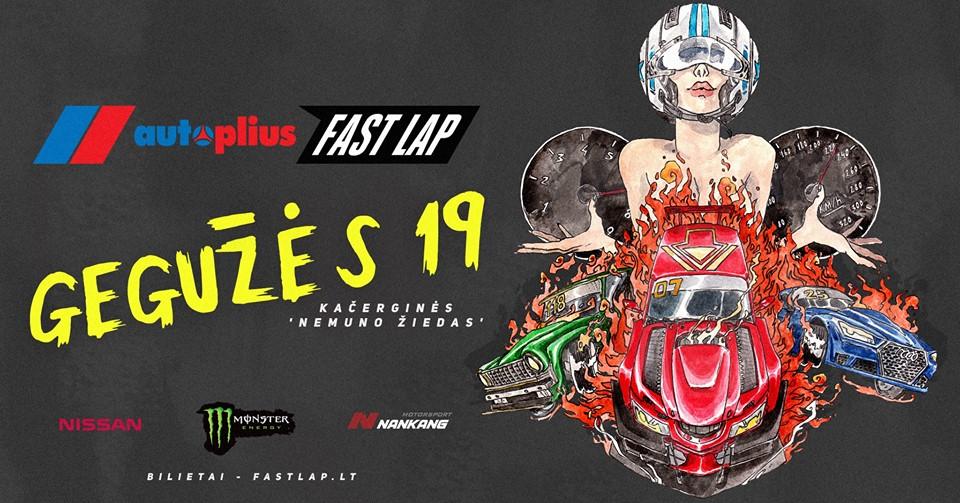 Autoplius.lt Fast Lap 2018 •1 serija• Lithuania welcomes Poland