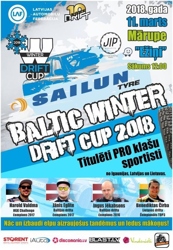 Baltic Winter Drift Cup 2018
