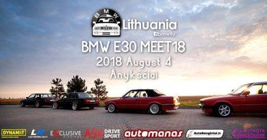 BMW E30 Meet'18   BMW Lithuania