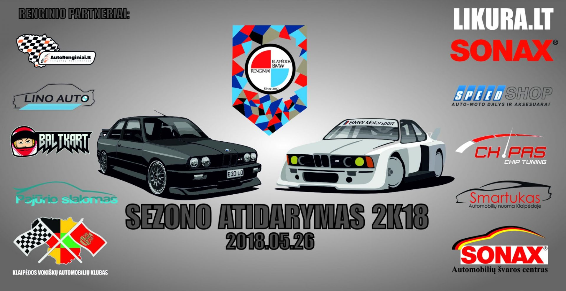 Klaipėdos BMW renginiai Sezono atidarymas 2k18