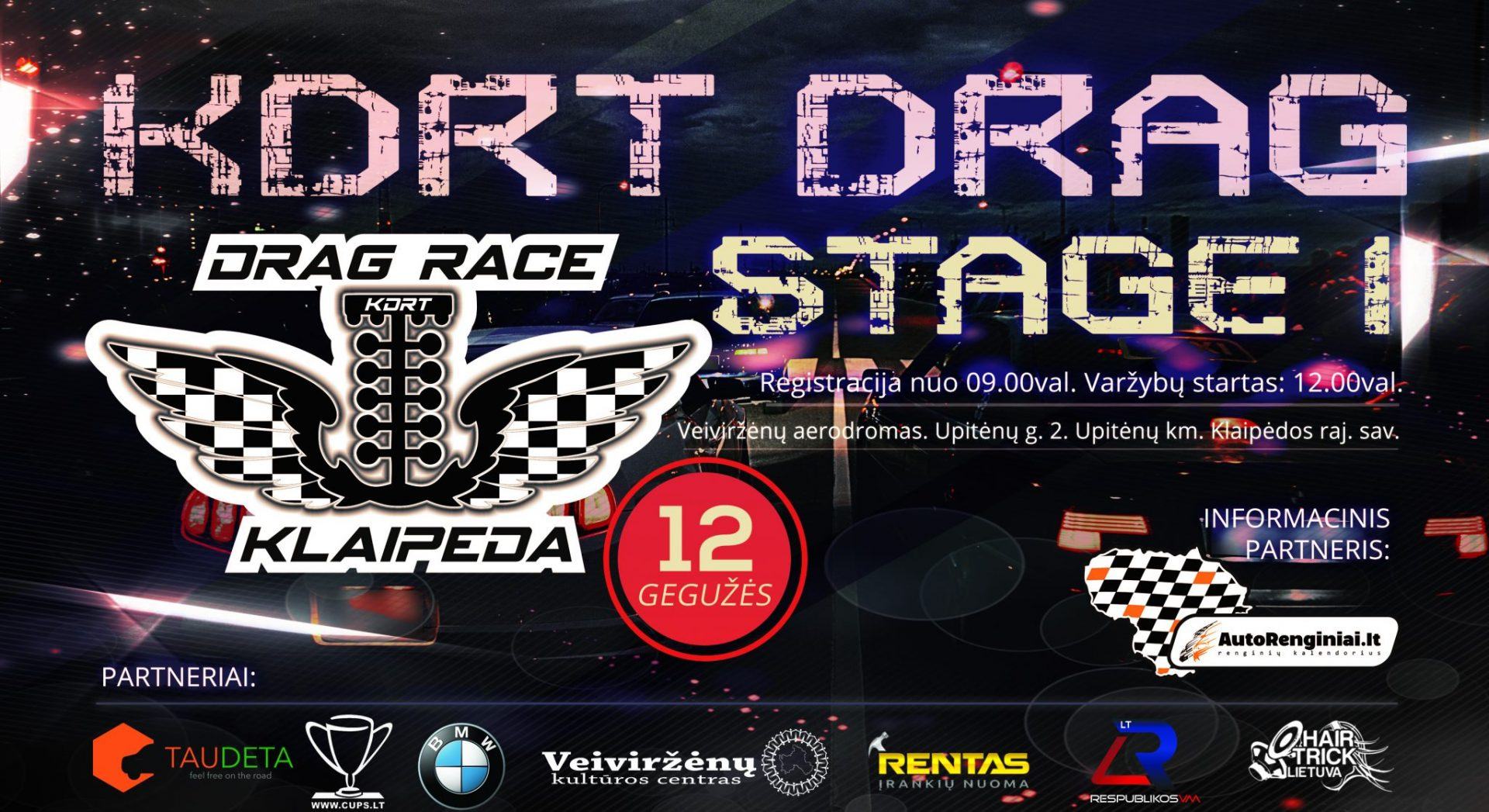 KDRT Drag Stage 1