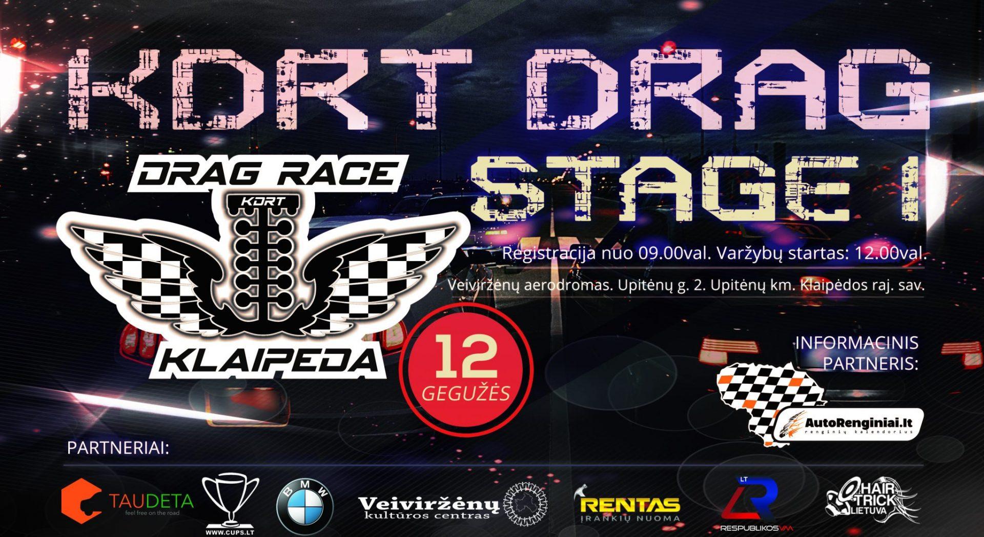KDRT Drag Stage 1