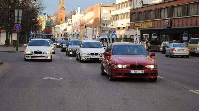 Klaipėdos BMW E39 sezono atidarymas