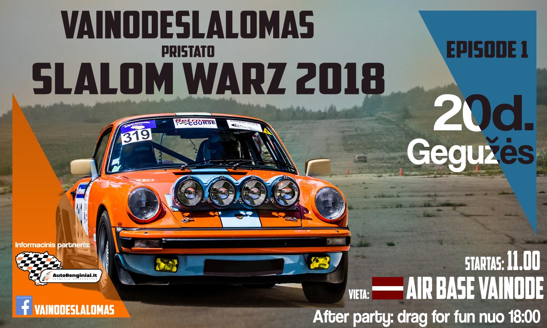 Slalom WARZ 2018/ Episode1