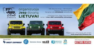 Jeep dovana Lietuvai !