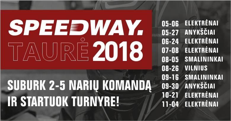 Speedway taurė 2018 - 1 etapas