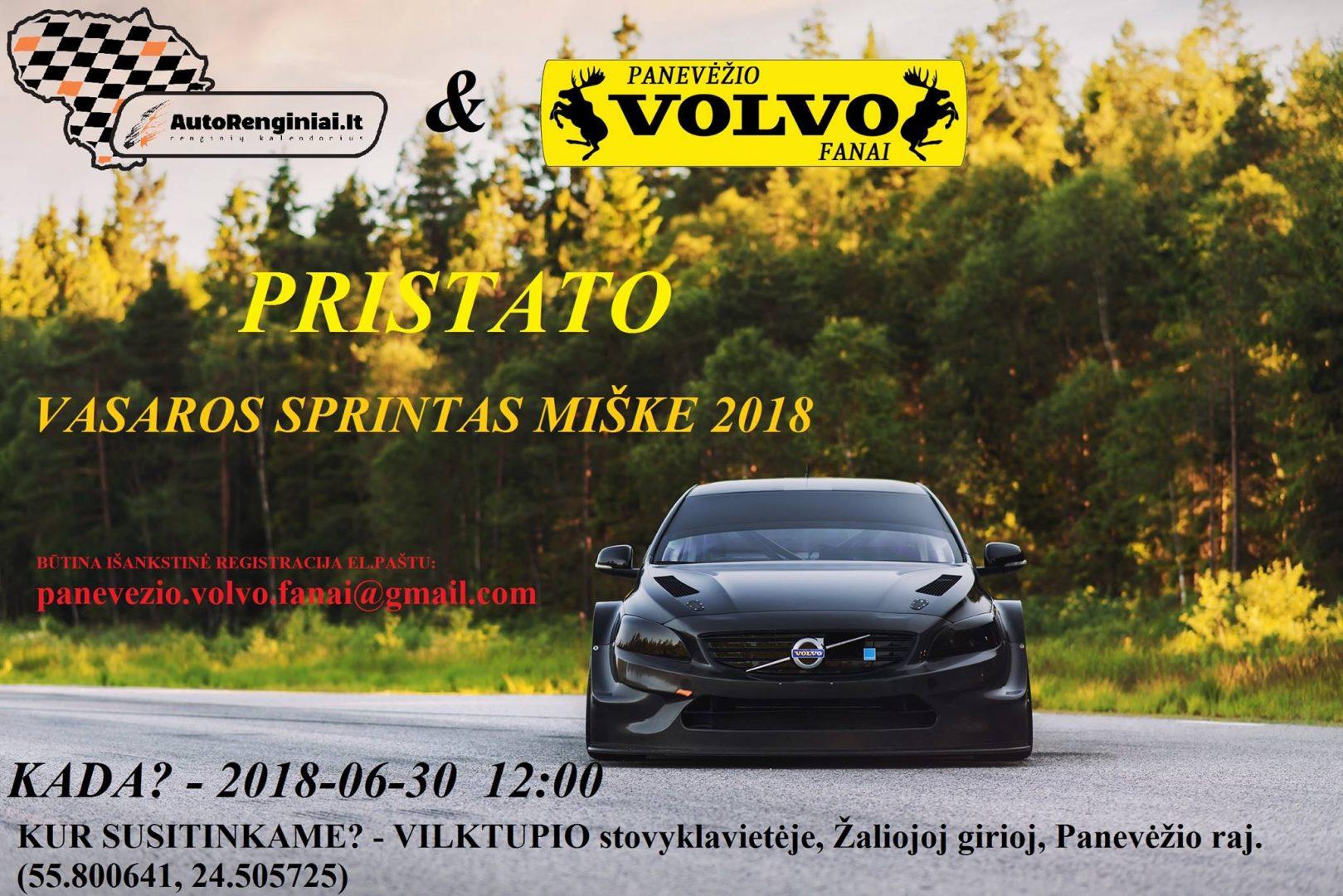 Vasaros sprintas miške 2018-06-30