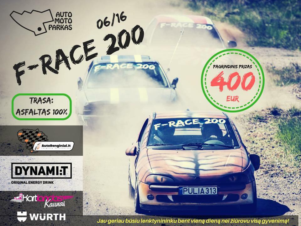 F-Race 200 2018-06-06