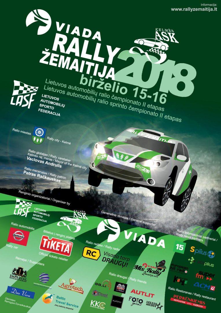 Viada Rally Žemaitija 2018