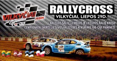 Baltijos šalių, Lenkijos ir Lietuvos ralio kroso čempionatai