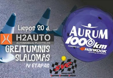 """""""H2auto"""" Lietuvos automobilių greituminio slalomo IV etapas"""