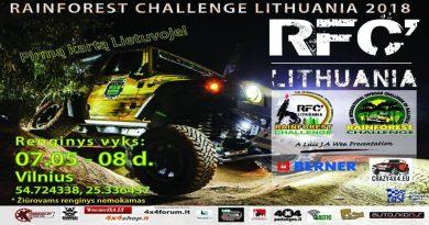 Rainforest Challenge Lithuania 2018