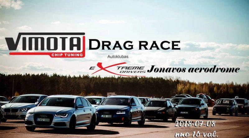 Vimota drag race Liepos 8 d. Jonavos aerodrome