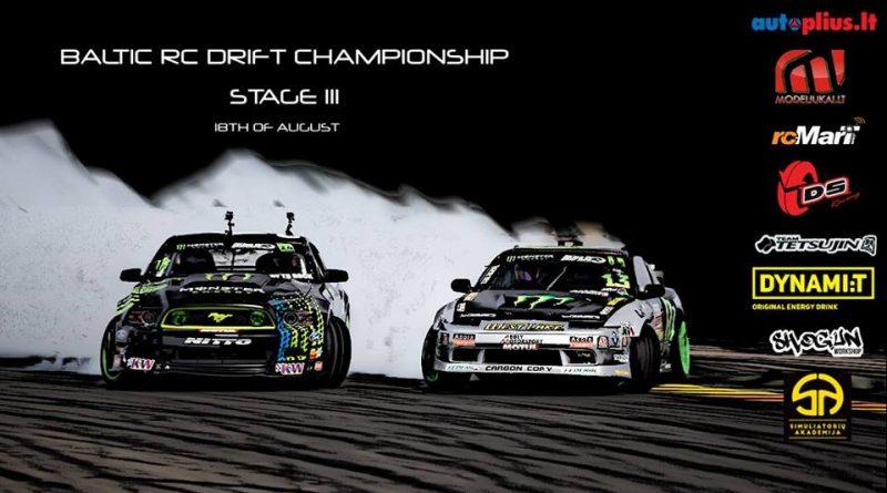 2018 Baltic RC drift championship stage III