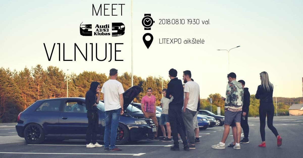 Audi A3/S3 klubo kavagėris Vilniuje