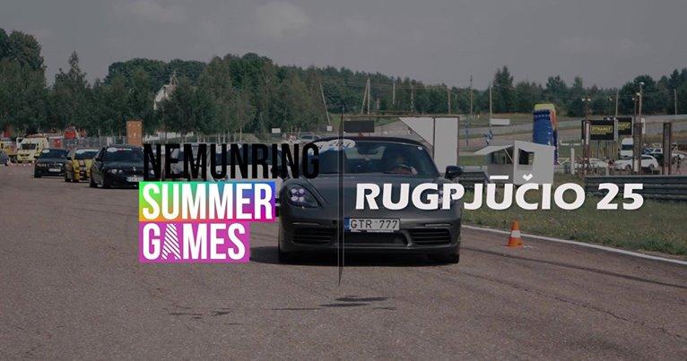Summer Games 3/3 - Track day by Tėvas Racing - Dragas Naktyje